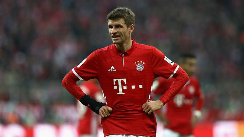 Thomas Muller was dropped for Bayern Munich's clash with RB Leipzig. Goal