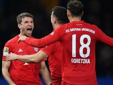 Bayern won 4-0. GOAL