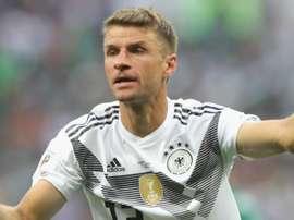 Thomas Muller ainda não fez uma boa atuação na Copa do Mundo e começa a ser questionado. Goal