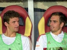 Müller quer ver Lahm de volta ao Bayern. Goal