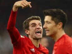 Assist machine Muller brings up Bundesliga century. GOAL