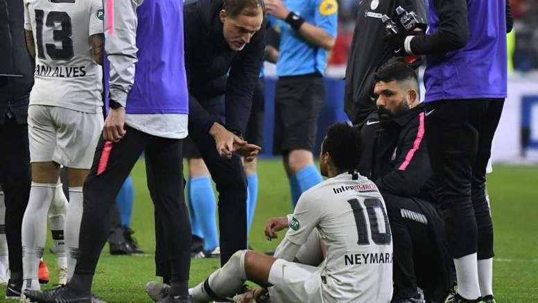 Neymar recently returned from an injury. GOAL