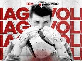 Negócio fechado! São Paulo anuncia contratação de Tiago Volpi. Goal