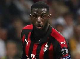 Tiemoue Bakayoko has his eyes set on a Champions League place. GOAL