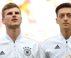 Werner says he would welcome back Ozil with open arms. GOAL