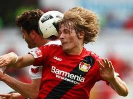 Jedvaj to miss start of Bundesliga. AFP