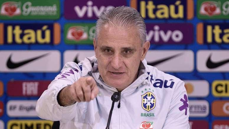 Tite não confirma Neres titular na Copa América e explica convocação de Willian.