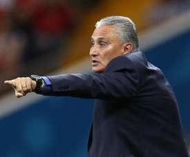 Tite não condena arbitragem e diz que Brasil sentiu ansiedade.Goal
