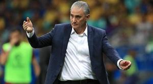 Tite has no VAR complaints as Brazil booed again.
