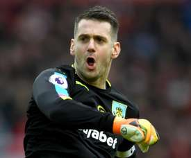 Tom Heaton has moved to Villa after six years at Turf Moor. GOAL