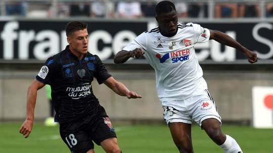 Tonguy Ndombele et Remy Walter, Amiens-Nice, Ligue 1. GOAL
