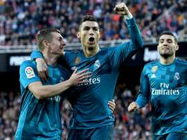 Neither Ronaldo nor Kroos are in Madrid's squad to face Las Palmas. GOAL