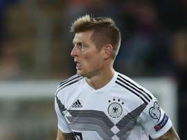 Toni Kroos is back for Germany after being injured in the last international break. GOAL