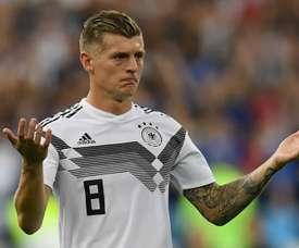 Jogo duro na concentração da Alemanha. Goal