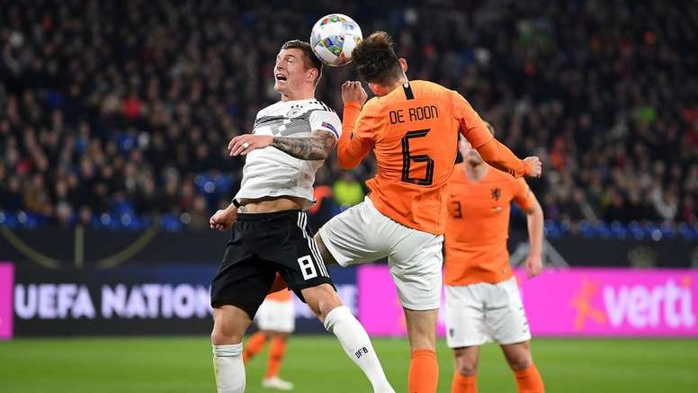 Alemanha 2 x 2 Holanda: van Dijk marca no último minuto e leva Holanda ao Final Four da Nations Leag