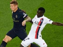Gueye a réalisé un match plein face au Real Madrid. Goal