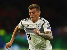 Toni Kroos is out with an injury. GOAL