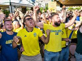 Exclusivo! Suecos se 'transformam' durante a Copa.Goal