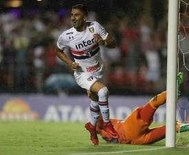 São Paulo recusa oferta de clube espanhol por Tréllez