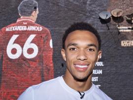 Alexander-Arnold é uma estrela do Liverpool dentro e fora de campo. Goal