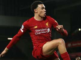 Alexander-Arnold explains 'freedom' to attack after assisting Anfield fightback. AFP