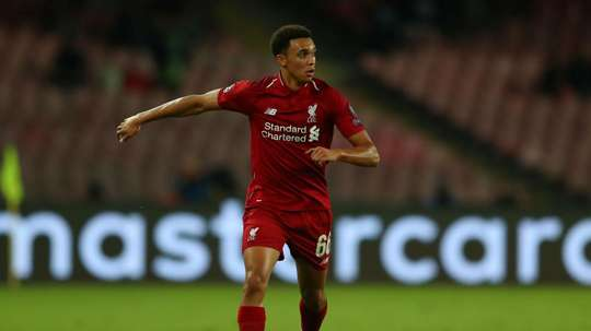 Alexander-Arnold endured a difficult game last time he was at Old Trafford. GOAL