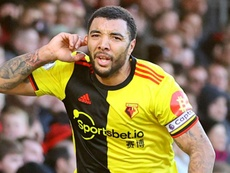 Troy Deeney scored in Watford's comfortable 0-3 win over Bournemouth. GOAL