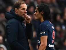 Verratti and Cavani could miss PSG's Man United trip, suggests Tuchel.
