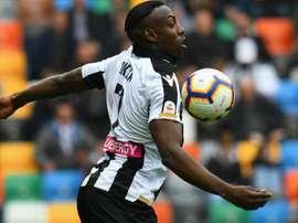 Okaka verso il ritorno all'Udinese. Goal