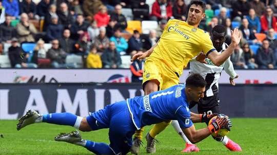 Pareggio tra Udinese e Verona. Goal