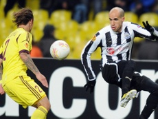 Gabriel Obertan, dans un match avec Newcastle United. AFP