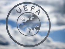 UEFA Logo. Goal