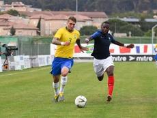 Amiens pense à l'espoir français Ulrick Eneme-Ella. GOAL