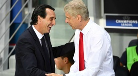 Unai Emery has been enthusiastic in his first sessions as manager. Goal