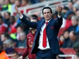 Emery peut rêver d'une fin de saison sous le signe de la réussite. EFE