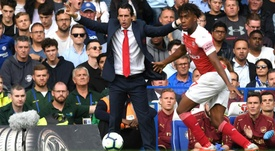 Unai Emery saw glipses of what he wanted in his side against Chelsea. Goal