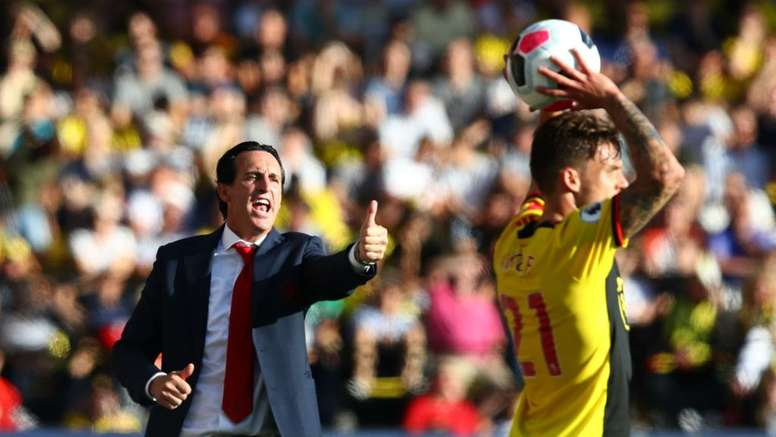 Arsenal youngsters will learn from Watford collapse - Emery.