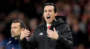 Emery would have liked his team to be more clinical in front of goal v Wolves. GOAL