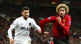 Manchester United drew the match with Valencia 0-0. GOAL