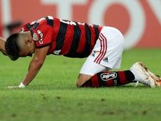 Uribe Flamengo Cruzeiro Libertadores. Goal