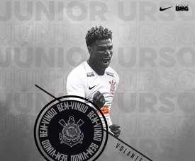 Corinthians anuncia a contratação de Júnior Urso por três temporadas.