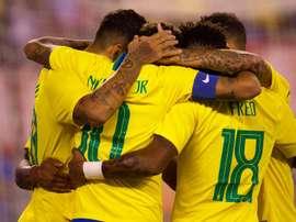 Brasil vence os Estados Unidos. Goal