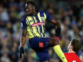 Bolt was lively on his Mariners debut. GOAL