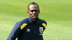 bolt was named on the bench for the game. GOAL