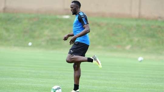 Bolt still chasing football dream, training with Stromsgodset