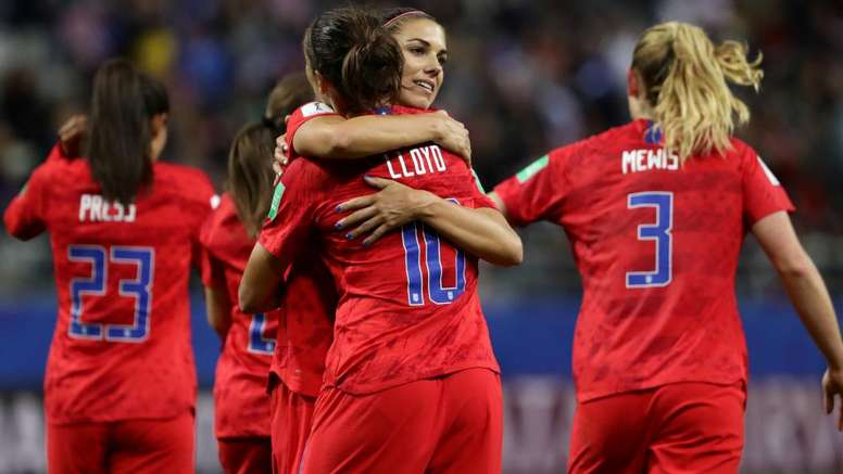 Wambach defends USA after 13-0 humiliation of Thailand. Goal