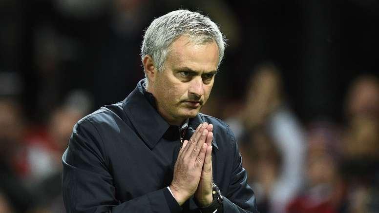 Mourinho is always in the spot light. Goal