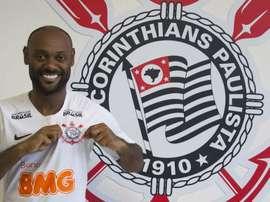 Vagner Love jogador do Corinthians. Goal