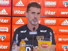 Bombeiro à beira do gramado: a missão de Mancini no São Paulo