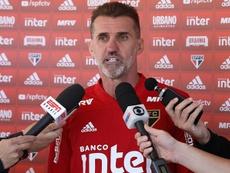 """Mancini promete analisar assunto Pato no São Paulo """"com muito carinho""""."""